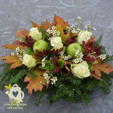 grafdecoratie-rozen-appels